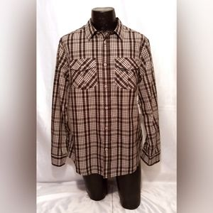 NWT ROCAWEAR Classics Button Front Shirt